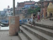 Children playing (in 45C heat)