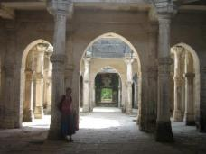 Old mosque inside a fort dating to 300BC