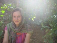Climbing Ginar Hill - a very conservative Muslim area
