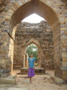 At Qutub Minar