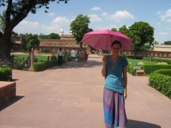 Agra Fort Gardens