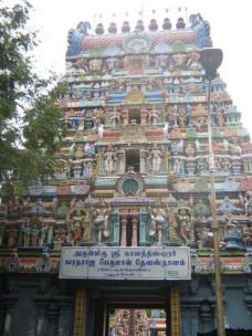 Dravidian temple discovered down a side street