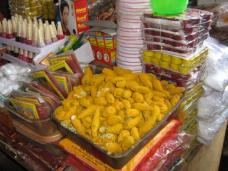 Tikka balls in the temple markets