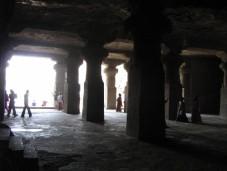 Caves on Elephanta Island