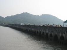 The jetty to Elephanta Island